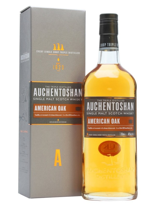 Auchentoshan American Oak Single Malt Scotch Whisky 0,7 l 40% alk.