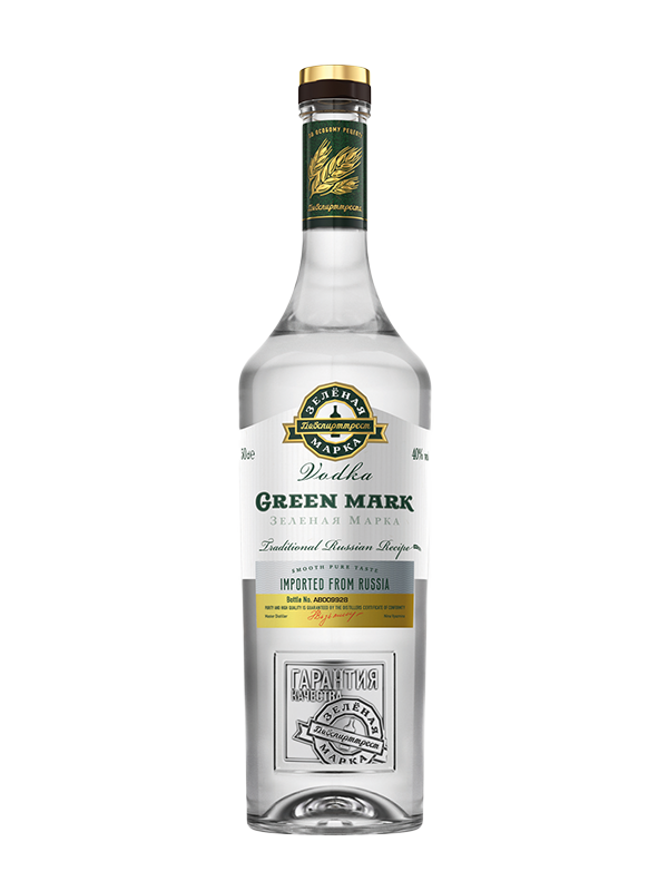 Vodka Green Mark Tradicionalna 0,7 l