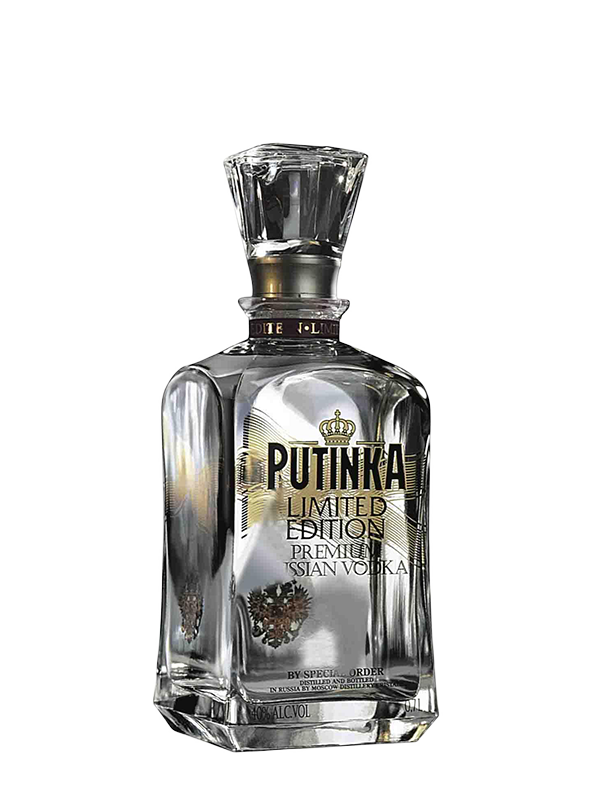Vodka Putinka Limited Edition 0,7 l