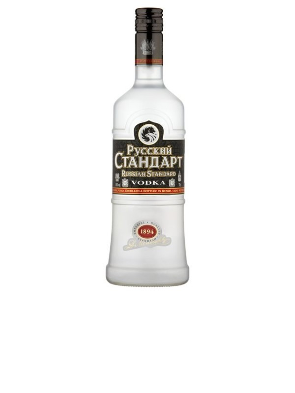 Vodka Ruski Standard Original 0,5 l 40%