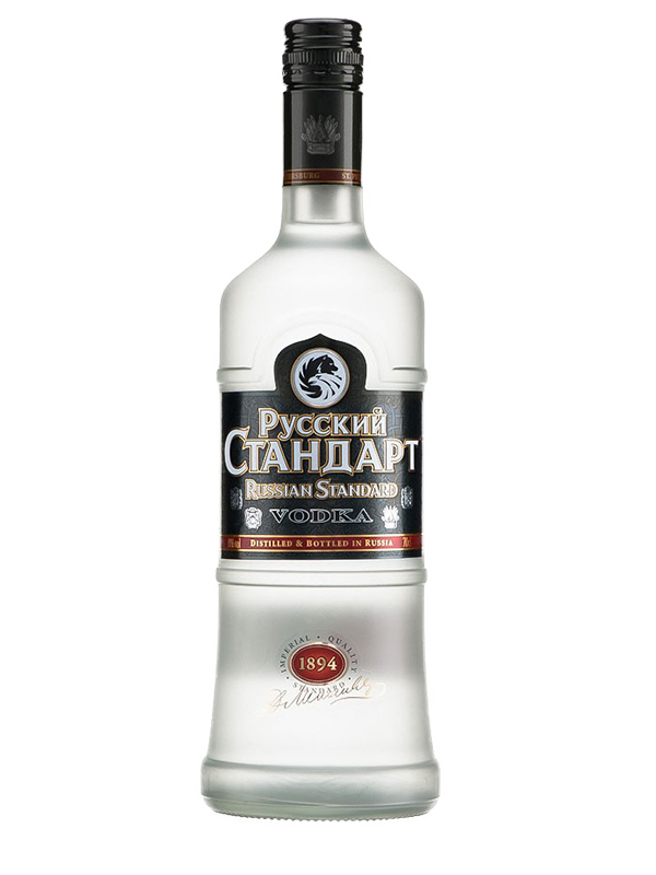 Vodka Russian Standard Original 1,0 l 40% alk.