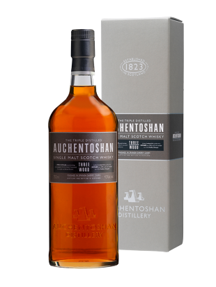 Whisky Auchentoshan Three Wood 43%  0,7 l