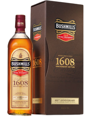 Whiskey Bushmills 1608 400th Anniversary 46%  0,7 l