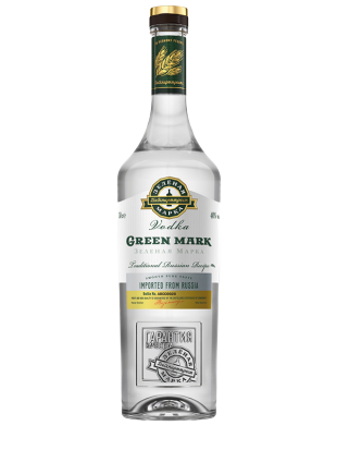 Vodka Green Mark Tradicionalna 1,0 l