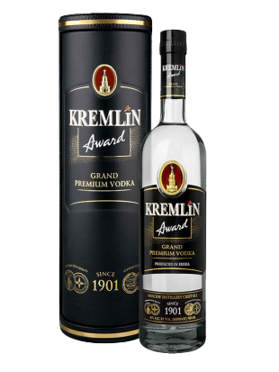 Kremlin Award Grand Premium Vodka 40% 0,7 l  leather tub