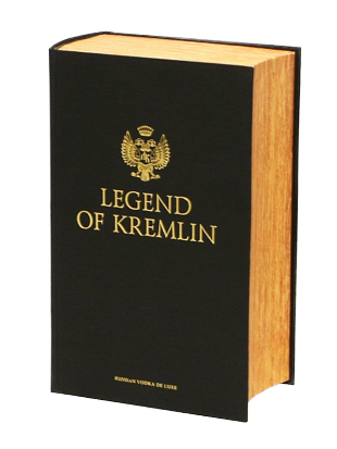 Vodka Legend of Kremlin darilno pakiranje v knjigi 0,7 l