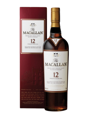 Macallan Sherry Oak 12 yo Whisky