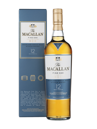 Whisky Macallan Fine Oak 12 yo 40% Highland 0,7