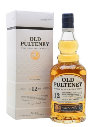 Whisky Old Pulteney 12 yo 40%  0,7 l