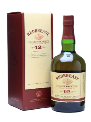 Whiskey Redbreast 12 yo Single Pot Still  40% 0,7 l