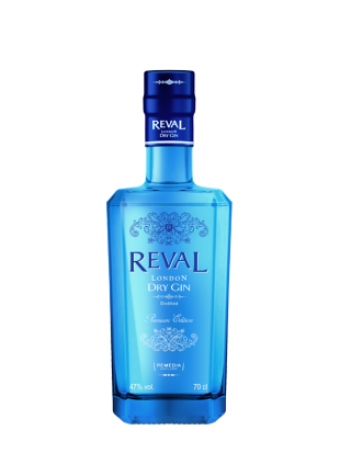 Reval London Dry Gin Premium Edition 47% 0,7 l