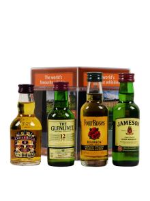 Miniset_The_worlds_favourite_whiskies_4x5_cl_40%