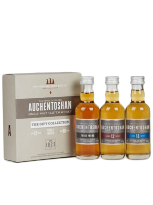 Miniset The Auchentoshan Gift Collection 3x5 cl