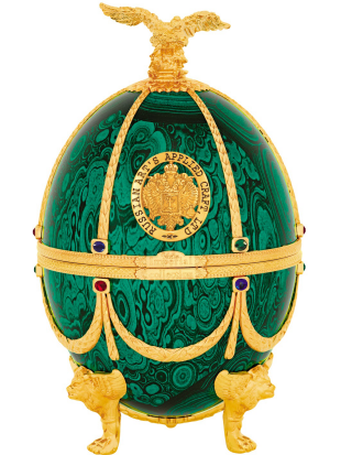 Imperial Collection Vodka - Faberge, zeleno