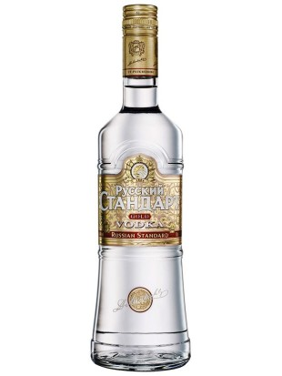 Vodka Ruski Standard Gold 0,5 l 40%