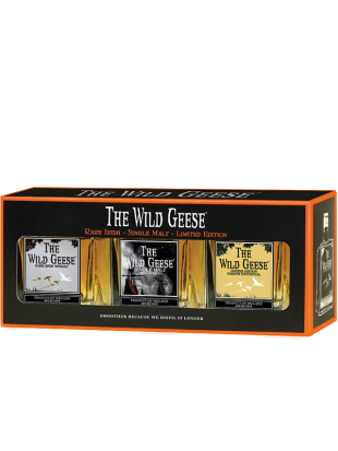 Miniset The Wild Geese Irish Whiskey 43% 3x5 cl