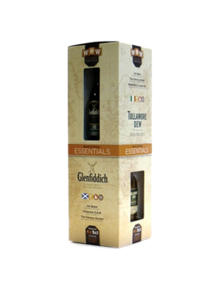 Miniset World of Whisky Essentials 40%  4x5 cl