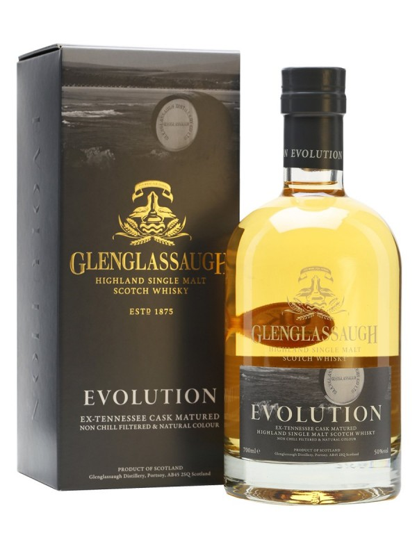 Whisky Glenglassaugh Evolution 0,7 l 50% alk.
