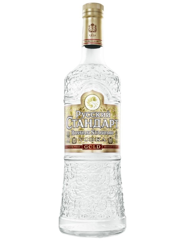 Vodka Ruski Standard Gold 1,0 l 40%