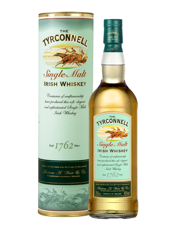 The Tyrconnell Single Malt Irish Whiskey 40% 0,7 l